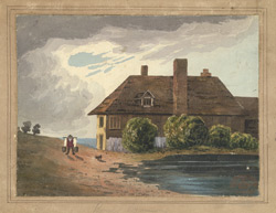 A cottage on Bromley Common, 1816